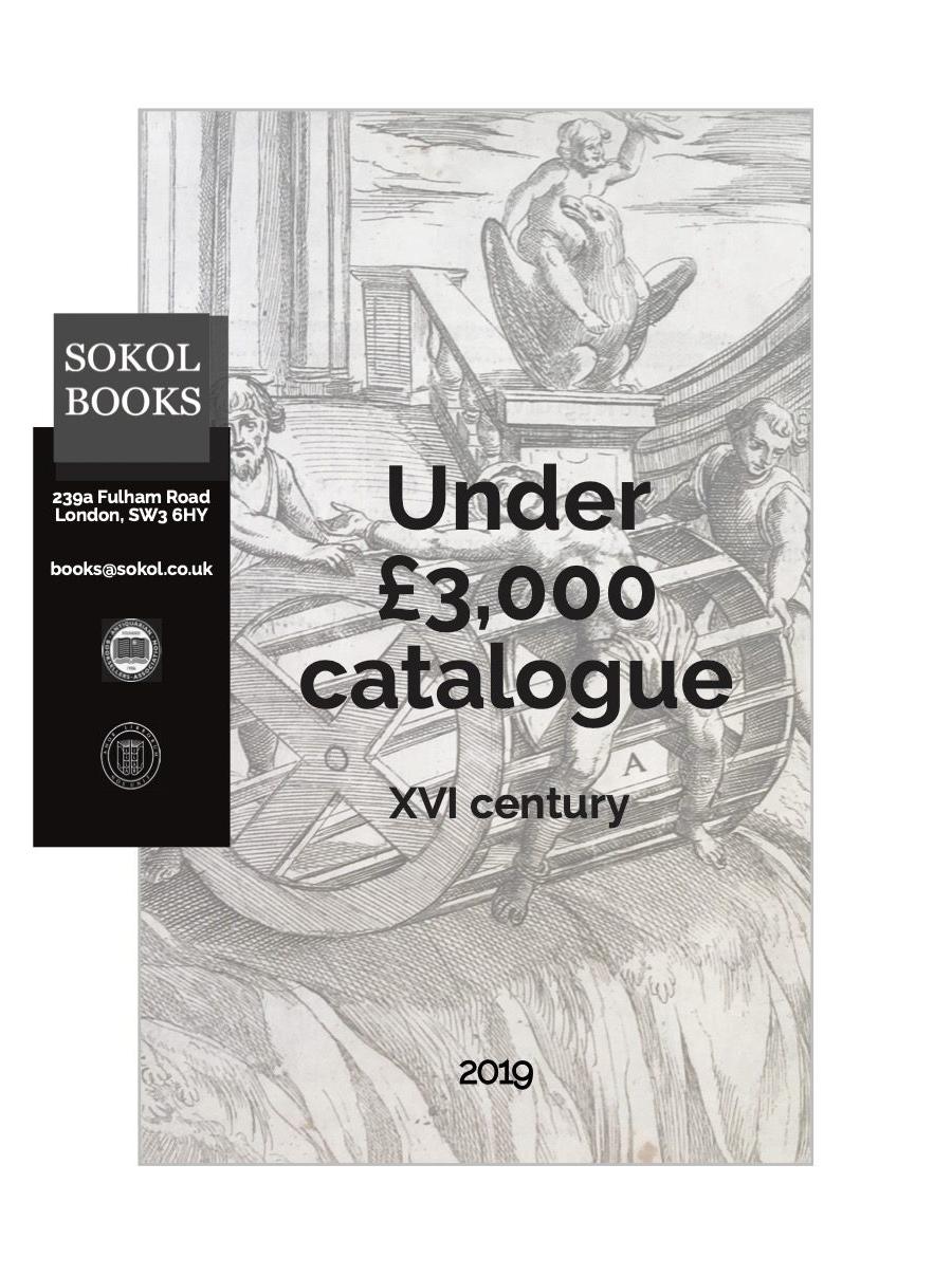 2019 Under £3,000 - 16th Century