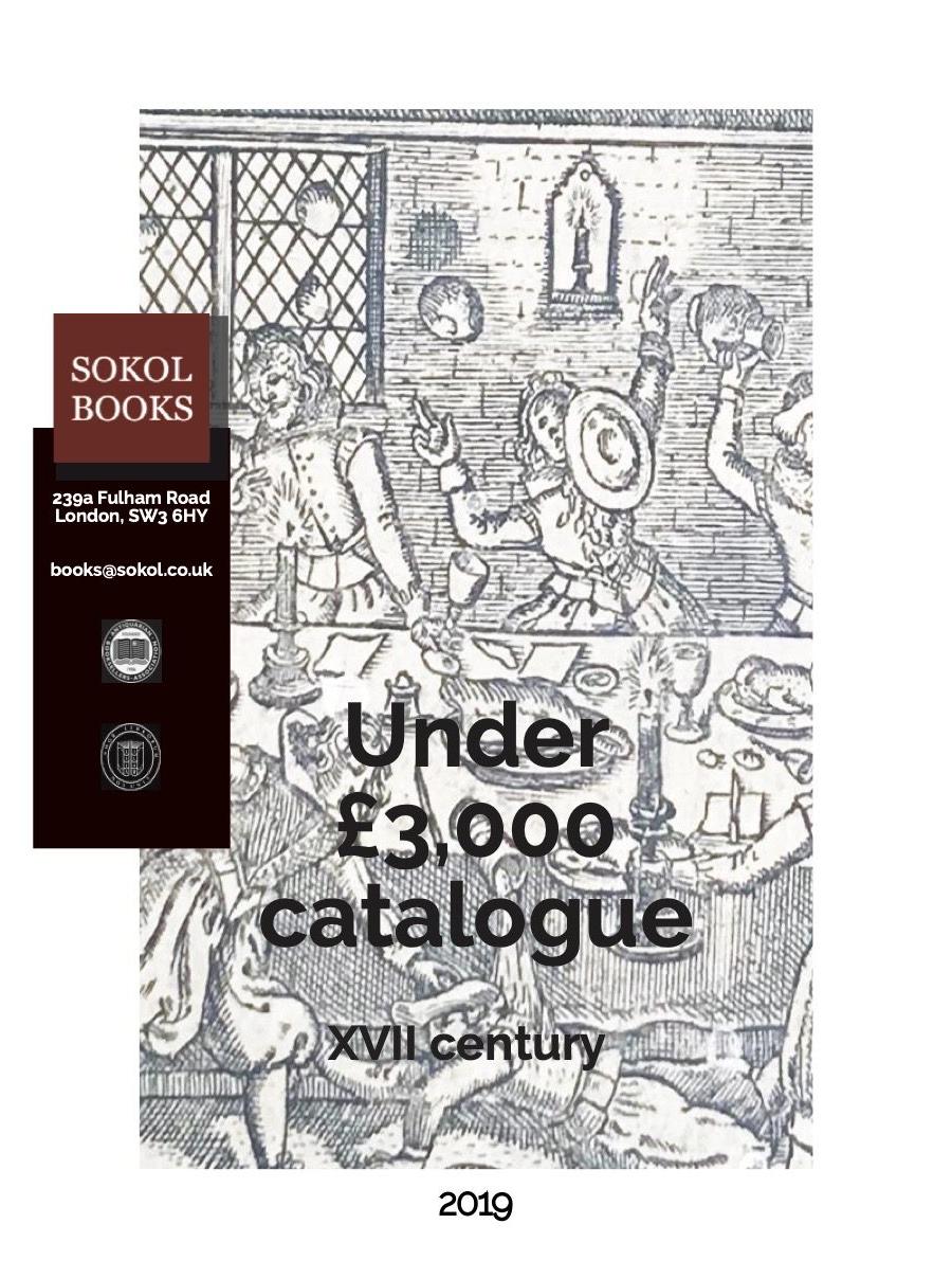 2019 Under £3,000 - 17th Century