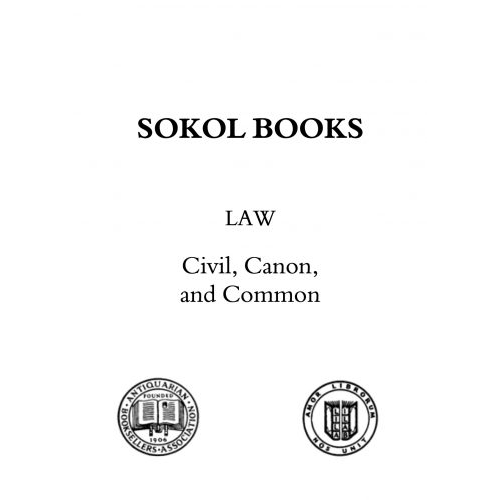 Law Books 2017