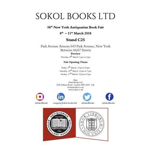 New York Antiquarian Book Fair 2018