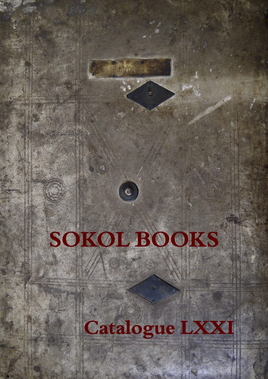 Sokol Books Catalogue 71 (2017)